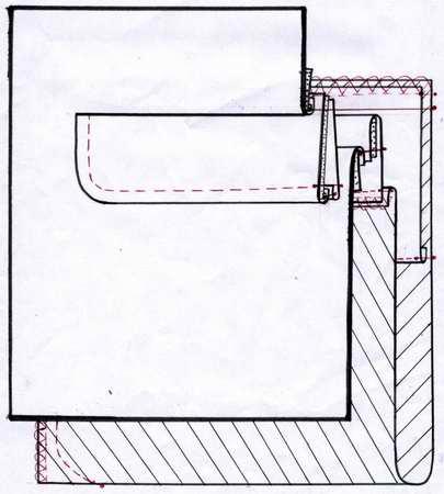 Как изготовить клапан кармана